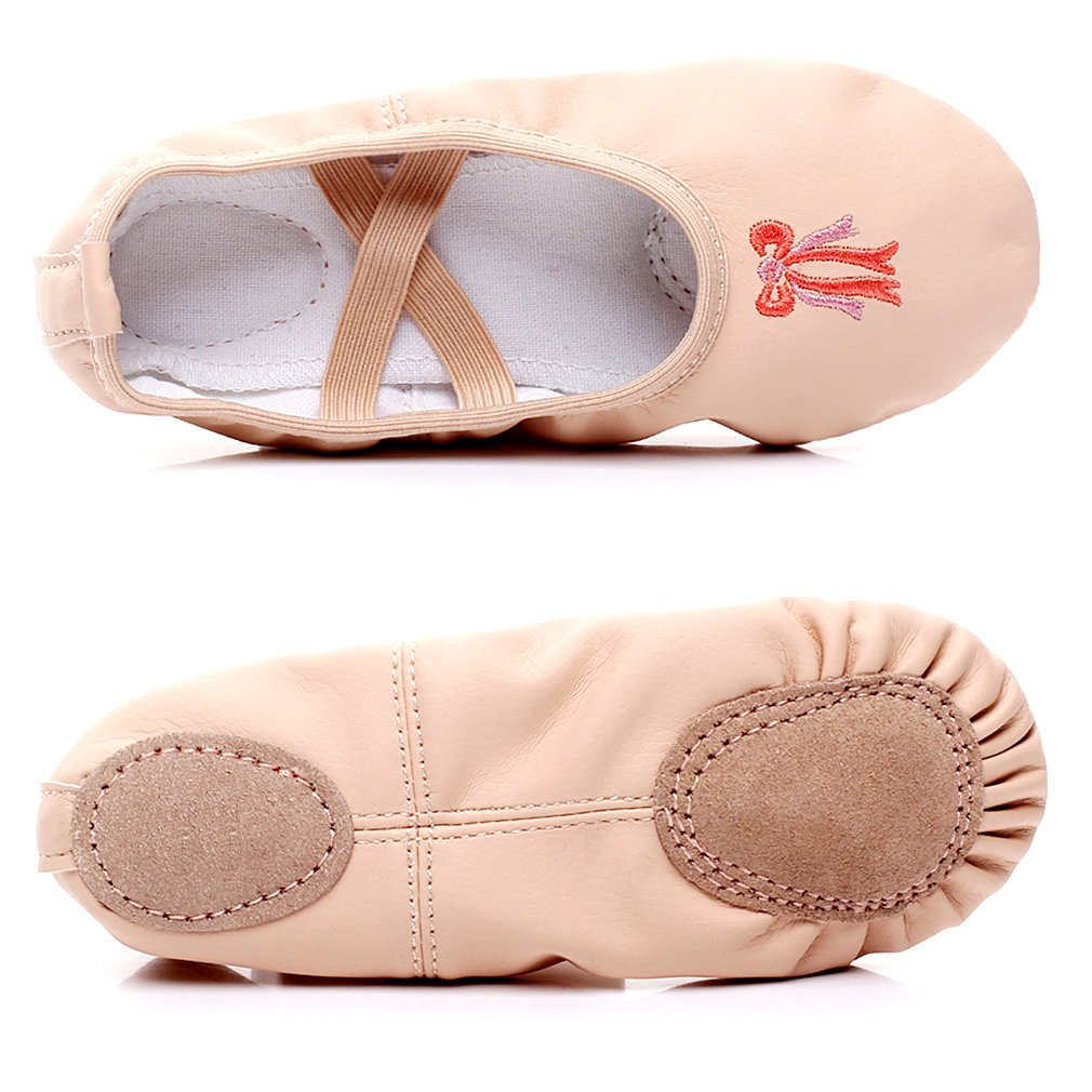 WELOVE Womens Canvas Ballet Shoes//Ballet Slipper//Dance Shoe//Yoga Shoes Split Sole Flats