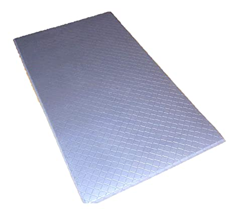 The Next Generation Gel-Anti-fatigue Kitchen Mats, Flat Black Rubberized  Gel Foam, new thicker, new edges. 20\