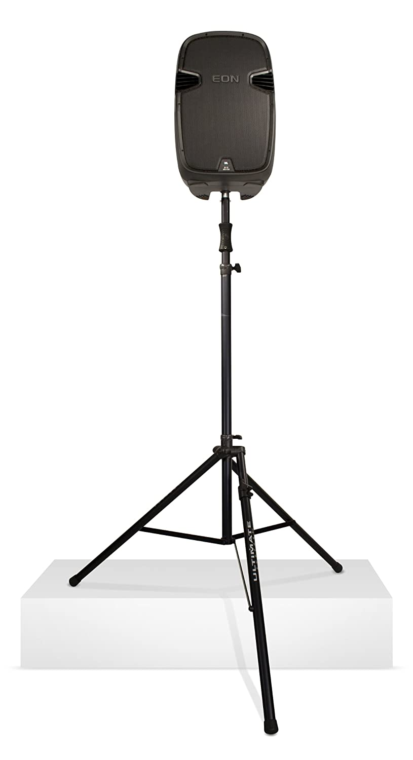 Ultimate Support TS-110BL Air-Powered Series Lift-assist Aluminum Tripod Speaker Stand - Xtra Tall & Includes Leveling Leg - None - TS110BL 77781-B
