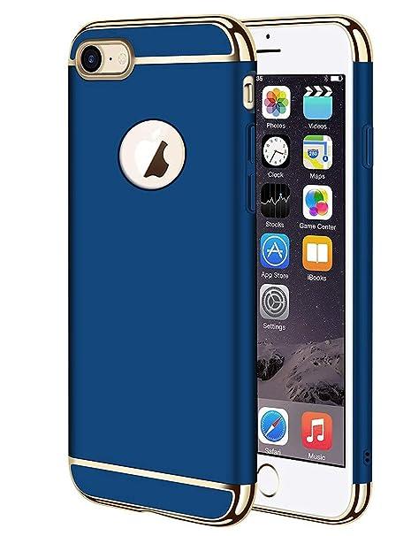 UCKLYSTAR® Funda iPhone 8, Carcasa iPhone 7, Carga Inalámbrica Compatible 3 en 1 Desmontable Protección a Protectora Estuche para iPhone 8 /iPhone 7 ...