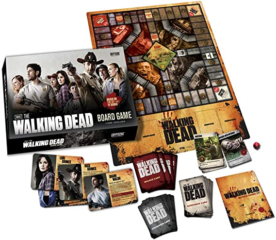 Walking Dead TV Board Game: N/A: Amazon.es: Juguetes y juegos