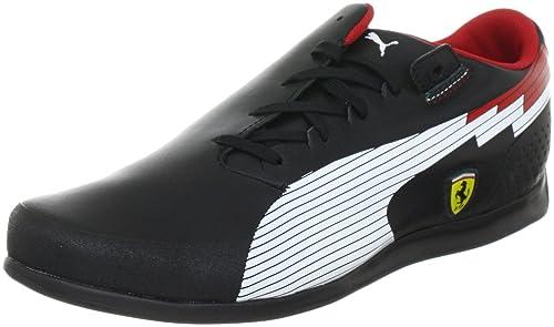 5b5597368f1 Puma Mens evoSPEED Low SF Trainers Black Black (black-white 02) Size