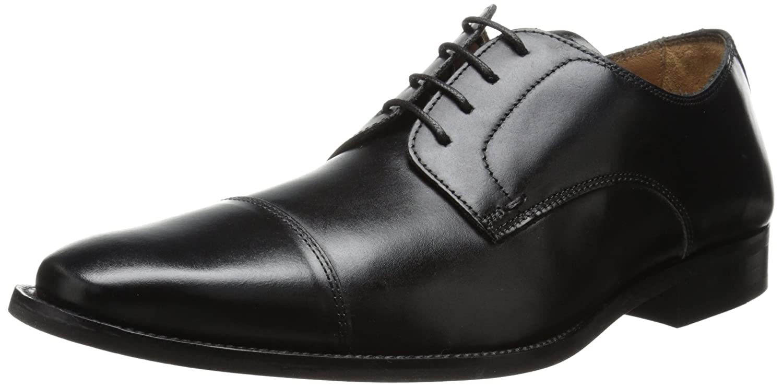 Florsheim Men's Sabato Cap Oxford 10 3E US|Black