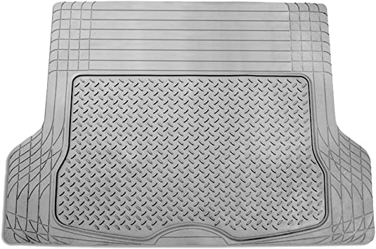 FH Group F16400GRAY Gray All Season Protection Cargo Mat//Trunk Liner Trimmable Size 55.5 x 42.5 Large