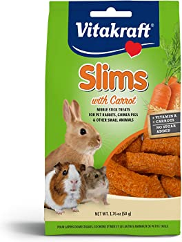 1.76 oz Vitakraft Carrot Slims Rabbit Treat