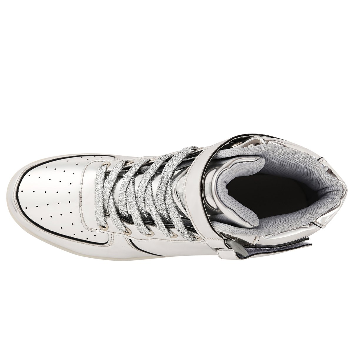 b07e1c3b1326ca Amazon.com  ANLUKE Kids High Top Light Up LED Shoes 11 Colors Sneakers as  Gift for Boys Girls Men Women  Shoes