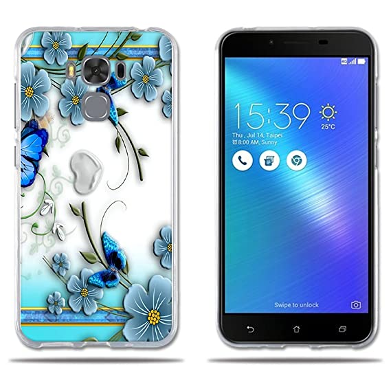 outlet store 7f8ec 290cf Amazon.com: Zenfone 3 Max Case Cover, Luxury Waterproof Case Shell ...