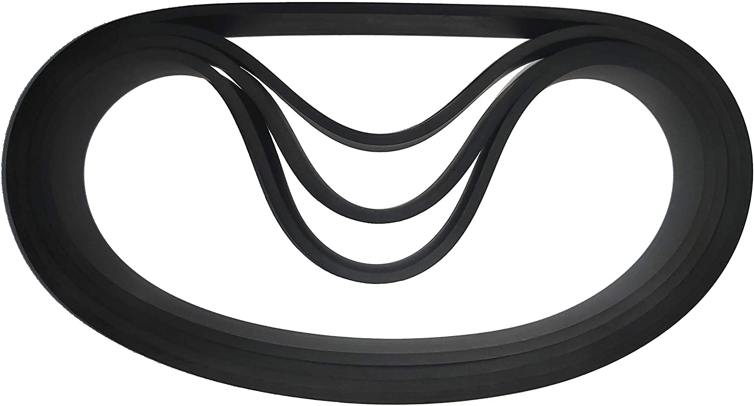 61120 Vacuum Cleaner Belt for Eureka vacuums Part Numbers 61120A, 61120B, 61120C, 61120D, 61120F, 61120G Many Model(4/Pack)