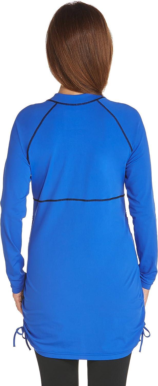 Coolibar Maglia da Nuoto Protezione UV UPF50/+
