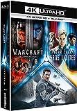 Science Fiction 4K - Coffret: Star Trek Sans limites + Warcraft : le commencement + Oblivion [4K Ultra HD + Blu-ray]