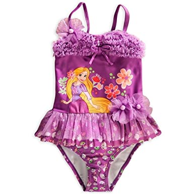 e95fdae22 Amazon.com: Disney Store Princess Tangled Rapunzel Girl Two-piece ...