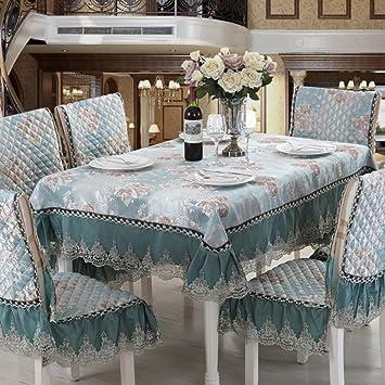GroB Europäisch Chinesischen Tycoon Esszimmer Stuhl Kissen,Esszimmerstuhl Kissen  Set Tischdecke,Tischdecke Stoff