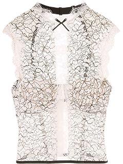 1b1b395d683 Victoria s Secret Dream Angels Chantilly Lace High-neck Bustier VS Ivory
