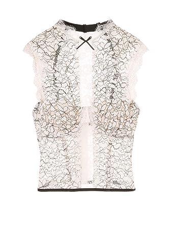 14c0e2231 Victoria s Secret Dream Angels Chantilly Lace High-neck Bustier VS Ivory ...