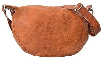 """31cb0a55a7 Gusti Cuir nature """"Anna"""" sac en cuir vintage sac de shopping  rétro sac"""