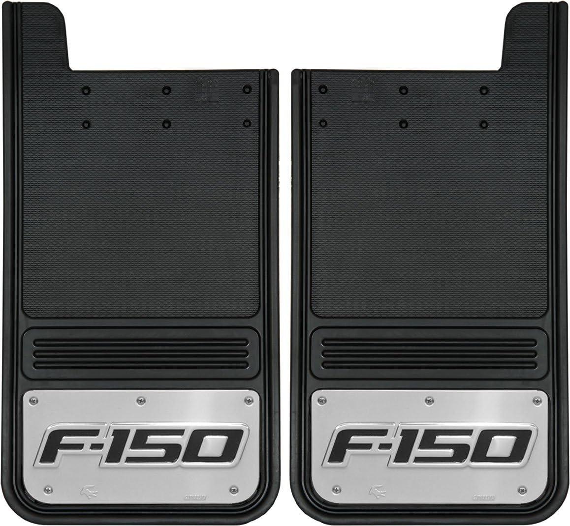 Truck Hardware Gatorback Mud Flaps with F150 Logo Rear Pair