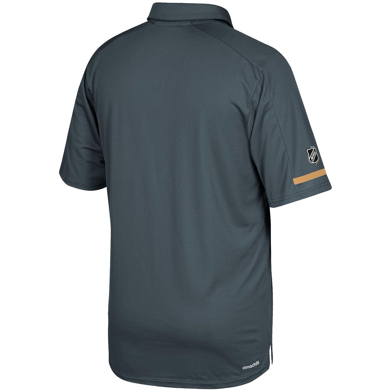0501f1c420b Amazon.com: Las Vegas Golden Knights Adidas NHL Men's 2017 Authentic Locker  Room Polo Shirt: Sports & Outdoors