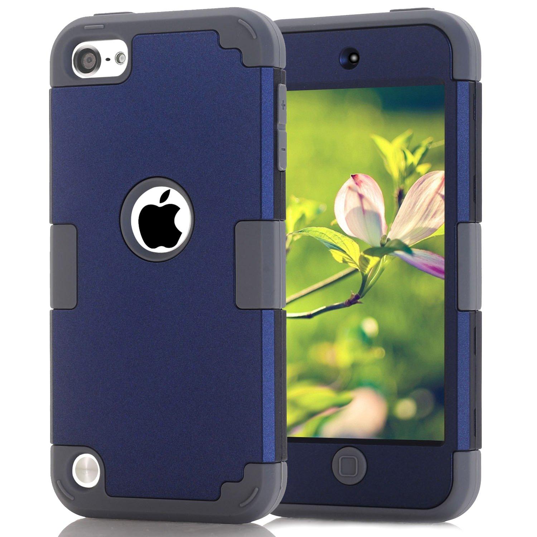 Funda para iPod Touch 5, 6, 7 (azul - gris)