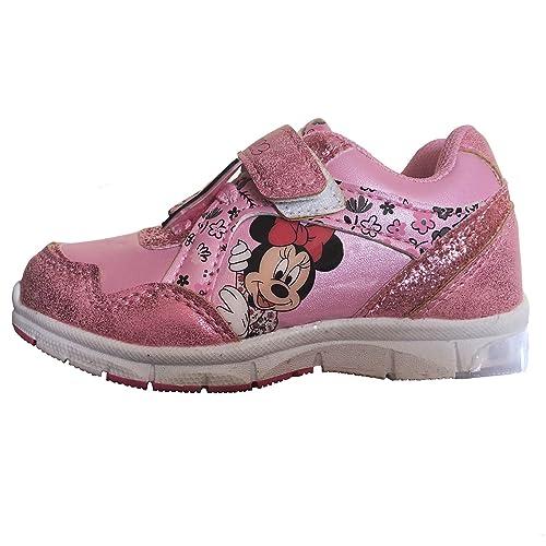 07296d2d6 Minnie Scarpe luci a LED Bambina 24 25 26 27 28 29 Disney Inverno 2019 (