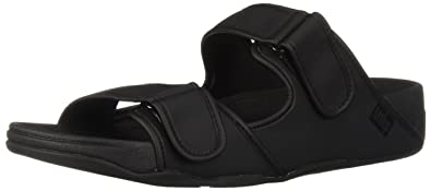 31548464f79 FitFlop Men s Gogh MOC Adjustable Slide Sandals-Neoprene