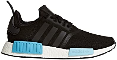 adidas Originals Women\u0027s NMD_R1 W Sneaker, Black/Black/Ice Blue, ...