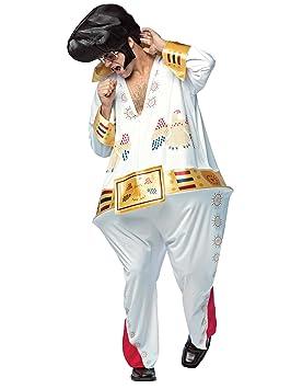 Disfraz de Elvis el rey gordo para adulto: Amazon.es ...