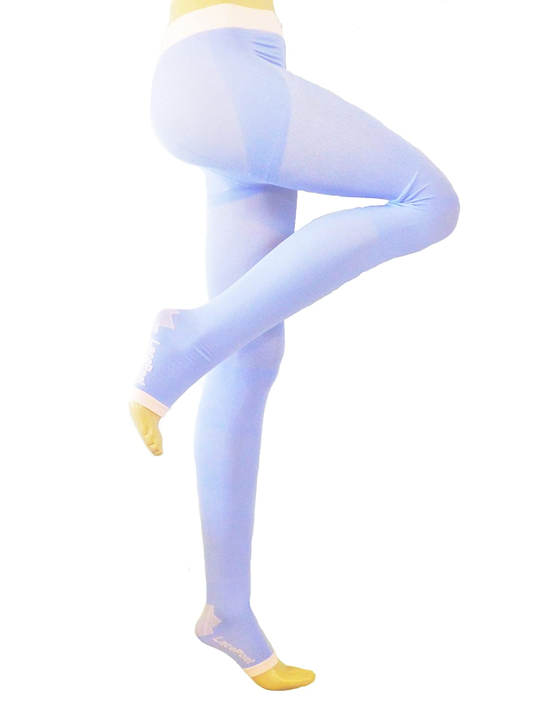 Lace Poet Purple Ultimate Yoga/Sleep Compression Body Shaper/Legging 20-30 mmHg