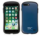 iFace ROOT CO. コラボ iPhone7plus ケース 耐衝撃/対衝撃 正規品 MILスペック (ネイビー)Gravity Shock Resist Case. iPhone 7 plus アイフォン アイフェイス