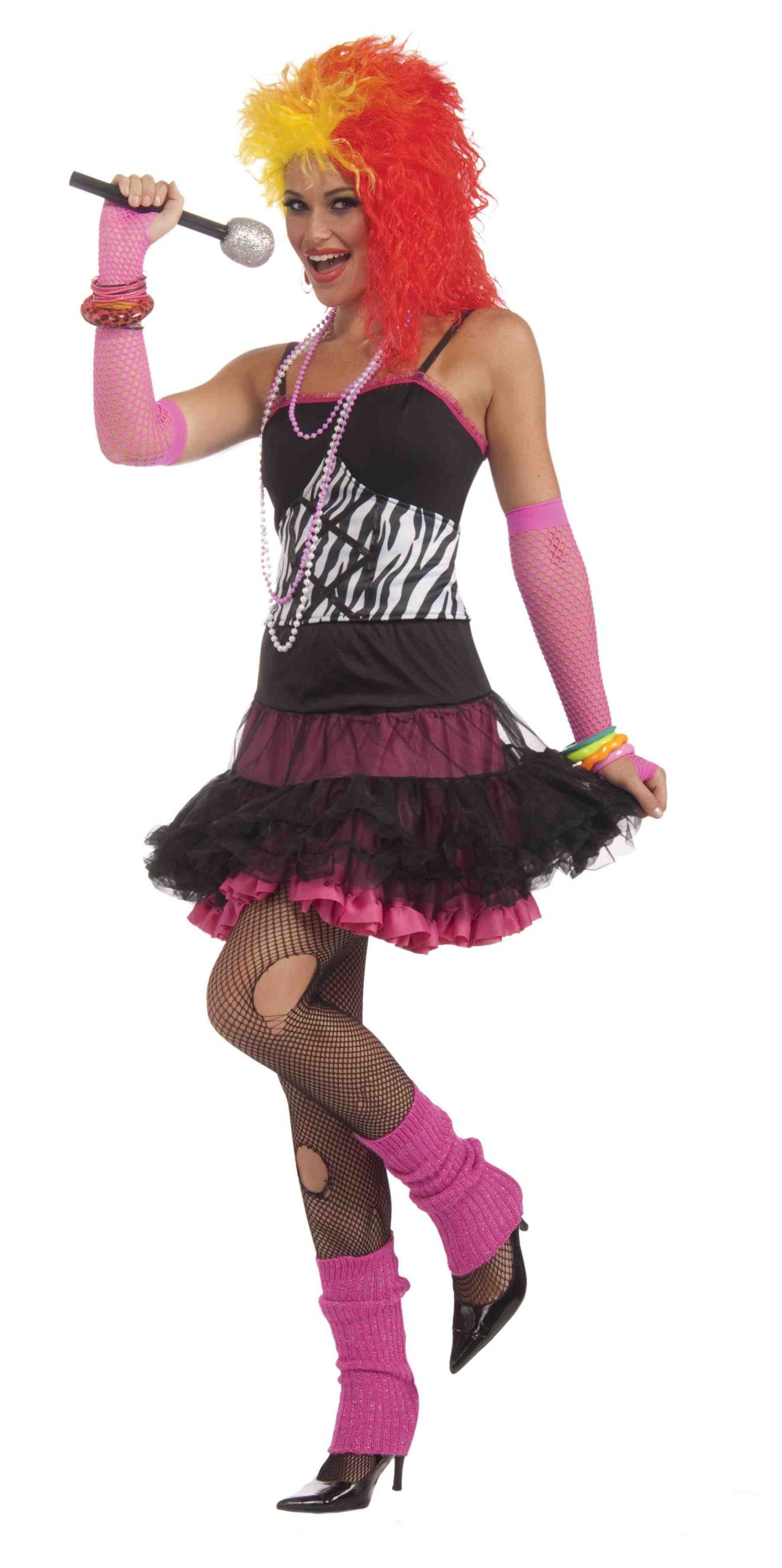 Forum To The Maxx Collection Dance Party Princess Costume, Pink/Black, Standard by Forum Novelties