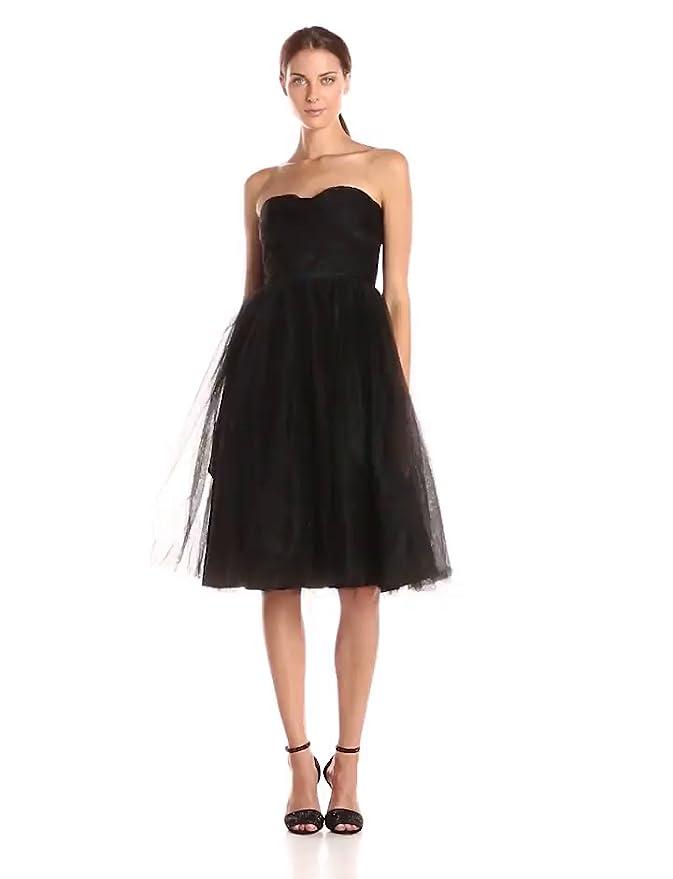 970521d7a Amazon.com: Donna Morgan Women's Kenna Mesh Tuille: Clothing