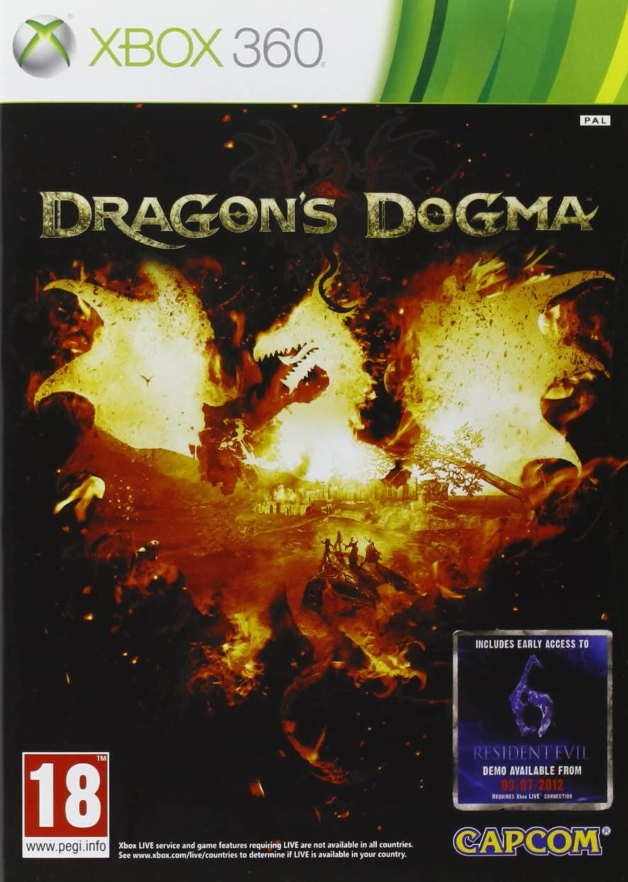Capcom Dragons Dogma, Xbox 360 Xbox 360 vídeo - Juego (Xbox 360, Xbox 360, RPG (juego de rol), Modo multijugador, M (Maduro), Soporte físico): Amazon.es: Videojuegos