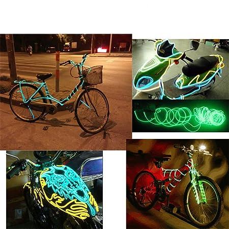 JIGUOOR EL Draht Super Bright Tragbare Kits für Halloween ...