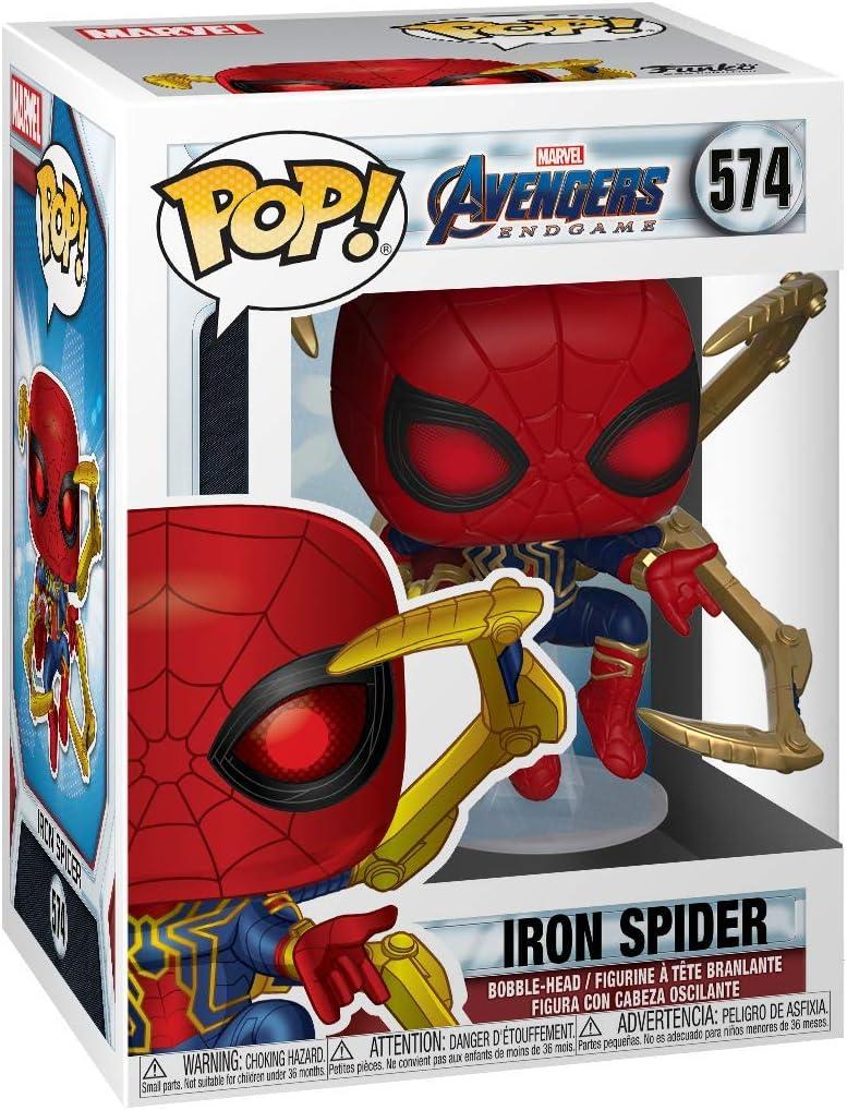 Amazon.com: Funko Pop! Marvel: Avengers Endgame - Iron ...