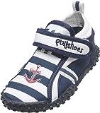 Playshoes Aqua-Schuh Maritim mit höchstem UV Schutz nach Standard 801 174781, Sandales garçon