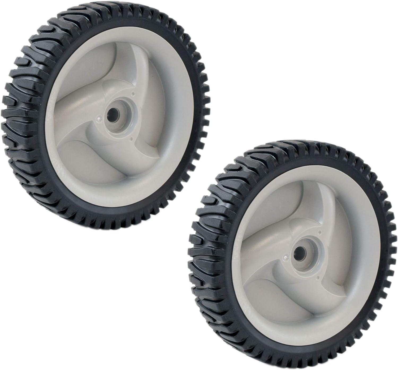 Husqvarna 400246X460 Lawn Mower Wheel Genuine Original Equipment Manufacturer (OEM) Part, 2-Pack