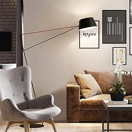 WQRTT Lámpara de pie IKEA Sala de Estar Personalidad ...