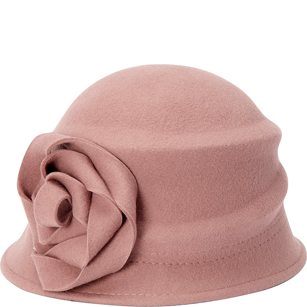 Betmar Womens Alexandrite Wool Trilby Hat with Flower Trim Betmar Womens Accessories B545H
