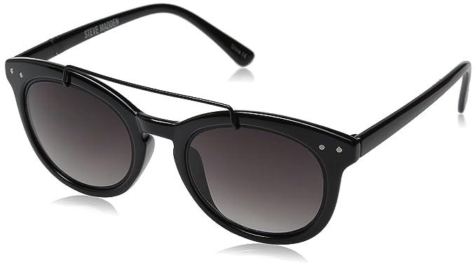 Steve Madden Damens's Square Shannon Browbar Square Damens's Sunglasses 7ac303