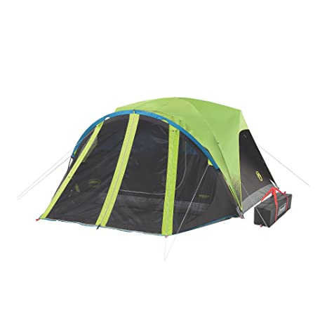 finest selection 46536 f7df5 Coleman Carlsbad Fast Pitch 6-Person Dark Room Tent