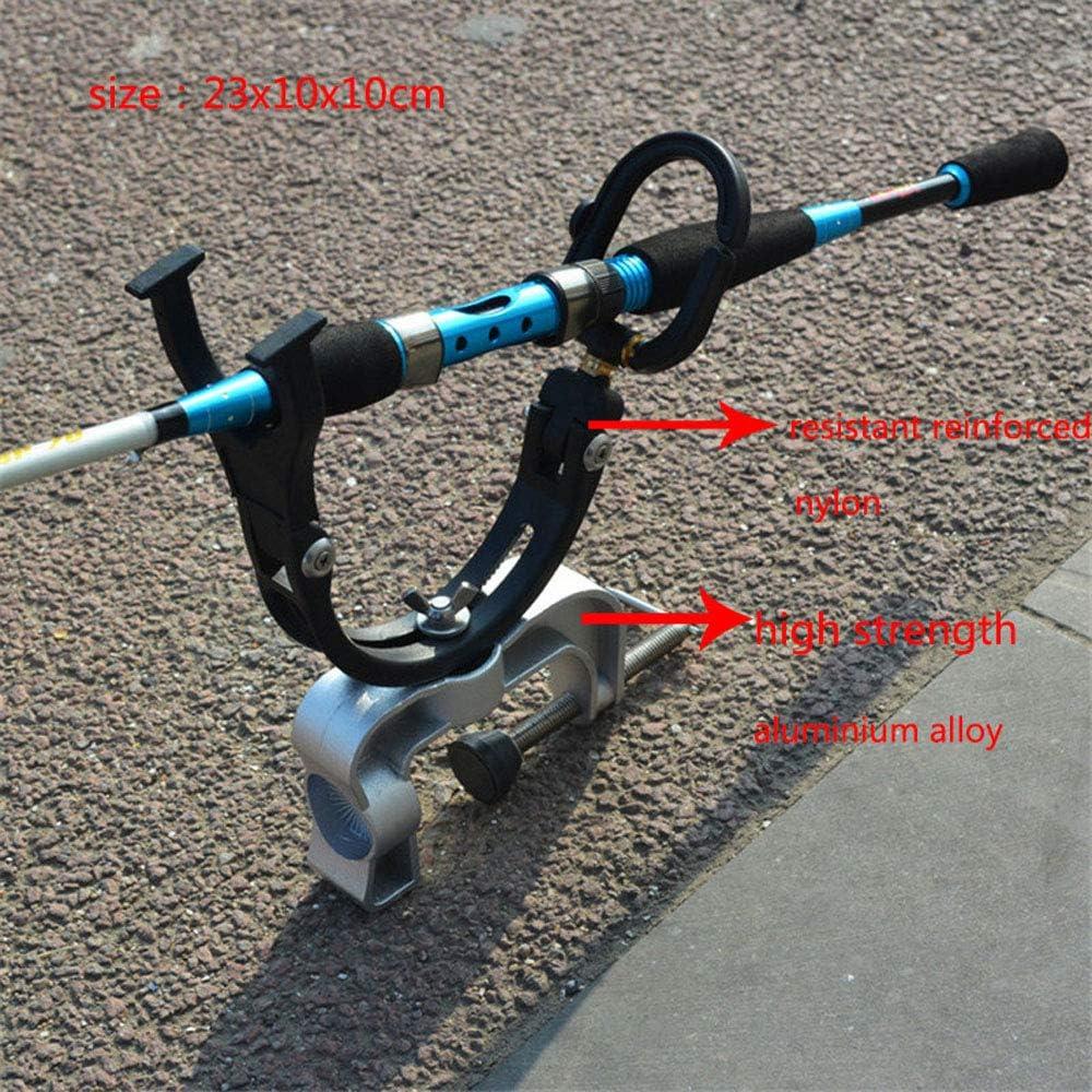 Angelhalterung f/ür Angelrutenhalterung 360 Grad drehbarer Rutenhalter mit Schrauben Boot f/ür Kajak-Yacht-Angelwerkzeug