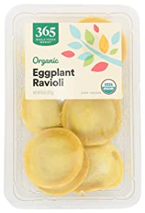 365 by Whole Foods Market, Frozen Organic Ravioli, Eggplant, 8 Ounce