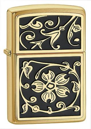 Zippo Classic - Encendedor de cocina (Negro, Oro): Zippo: Amazon.es: Deportes y aire libre