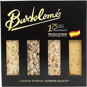 Turrón Pack Mix 4 tabletas de 70 gramos - Alicante, Jijona, Guirlache y Frutos Secos - 280 gramos Total: Amazon.es: Alimentación y bebidas