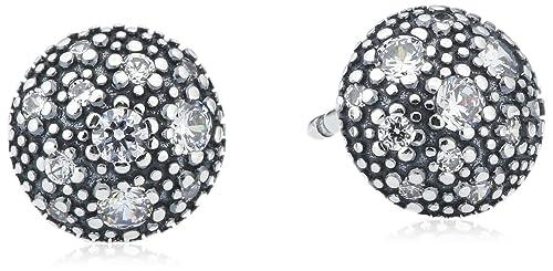 b76d25a45 Pandora Cosmic Stars Earrings in 925 Sterling Silver W/Cubic Ziconia,  290560CZ: Amazon.ca: Jewelry