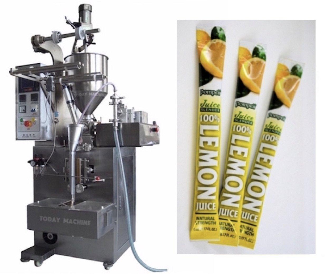 Máquina de embalaje líquido de 1000 ml para rellenar pasta automática de máquina de sellado salsa aceite/leche/miel: Amazon.es: Industria, ...