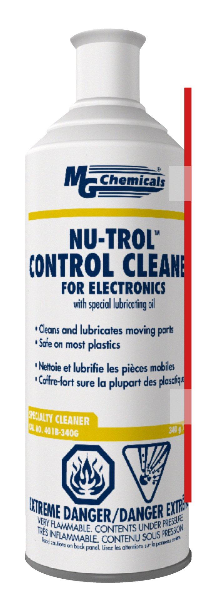MG Chemicals 401B Nutrol Control Cleaner, 340g (12 oz) Aerosol Can