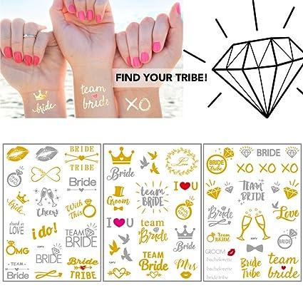 Tatouage Evjf Team Bride Tatouages Ephemeres Pour La Fete De