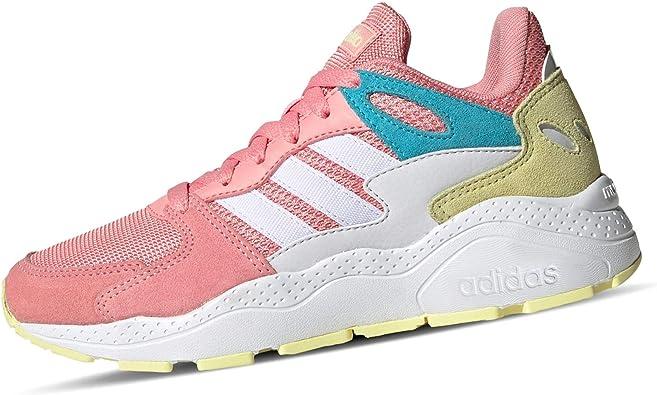 Adidas CRAZYCHAOS J, Zapatillas para Correr Unisex Adulto, Glory Pink/FTWR White/Bright Cyan, 39.33 EU: Amazon.es: Zapatos y complementos