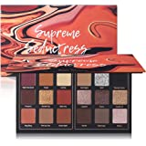 Matte Eyeshadow Palette Pro 18 Colors Highly Pigmented Shimmer Eye Shadow Palette Blendable Long Lasting Waterproof…