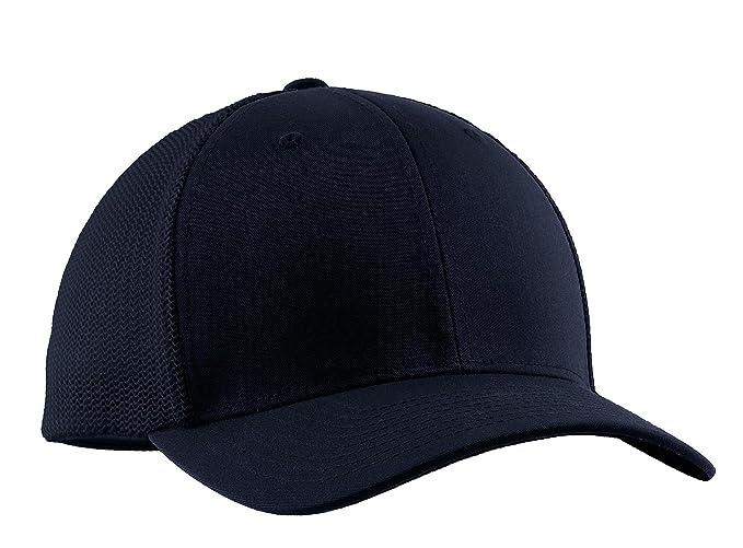 d63e19989b0195 Port Authority Men's Flexfit Mesh Back Cap at Amazon Men's Clothing ...